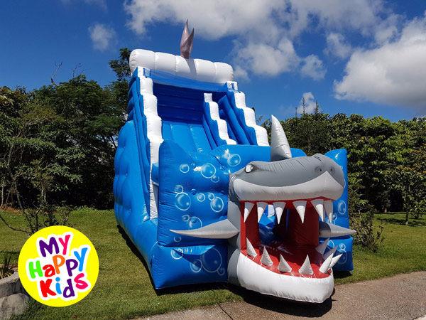 Aluguel Tobogã Tubarão Gigante
