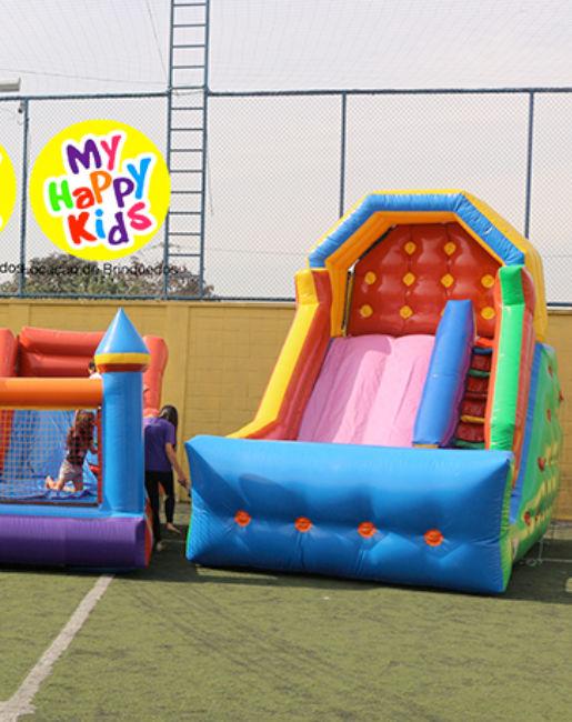 Brinquedos infláveis eventos corporativos